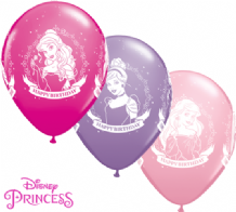 Disney Princess Birthday Balloons - 11 Inch Balloons (25pcs)